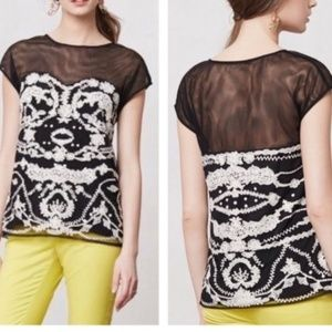 Anthro Odille Cybele Tulle 20 Year Archival top